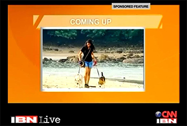 Bark N Bond in CNN IBN